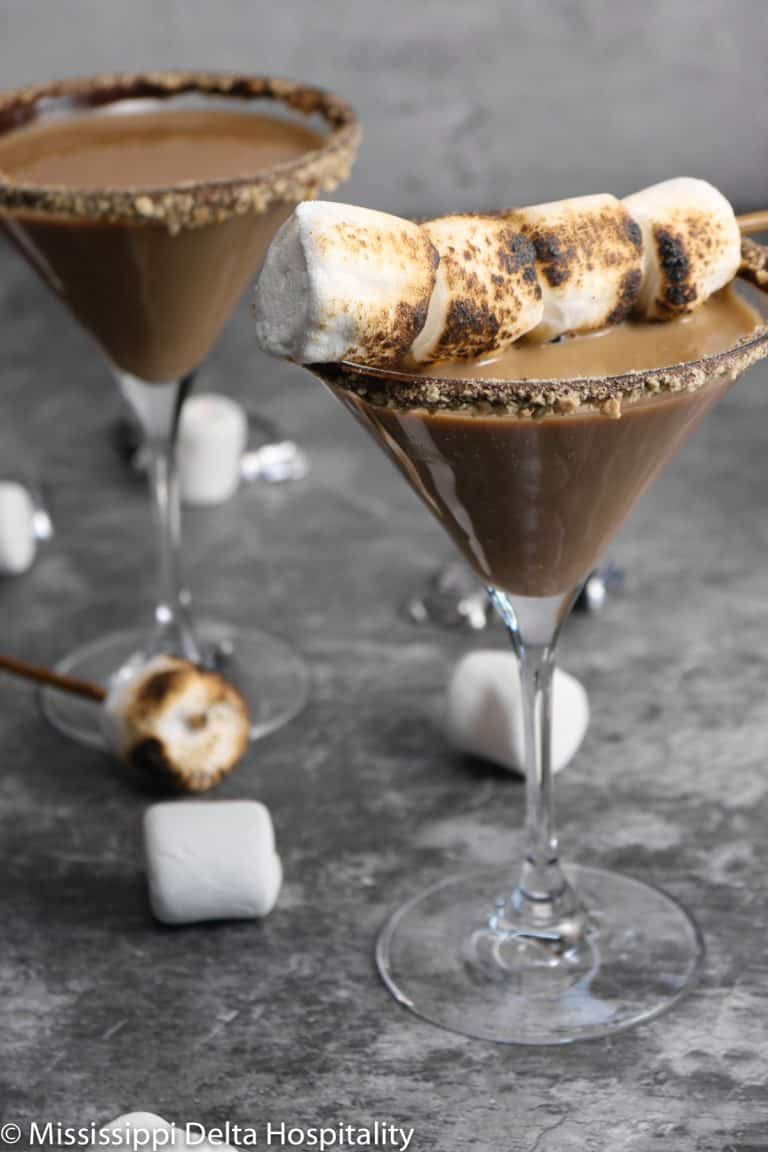 Chocolate S'mores Martini