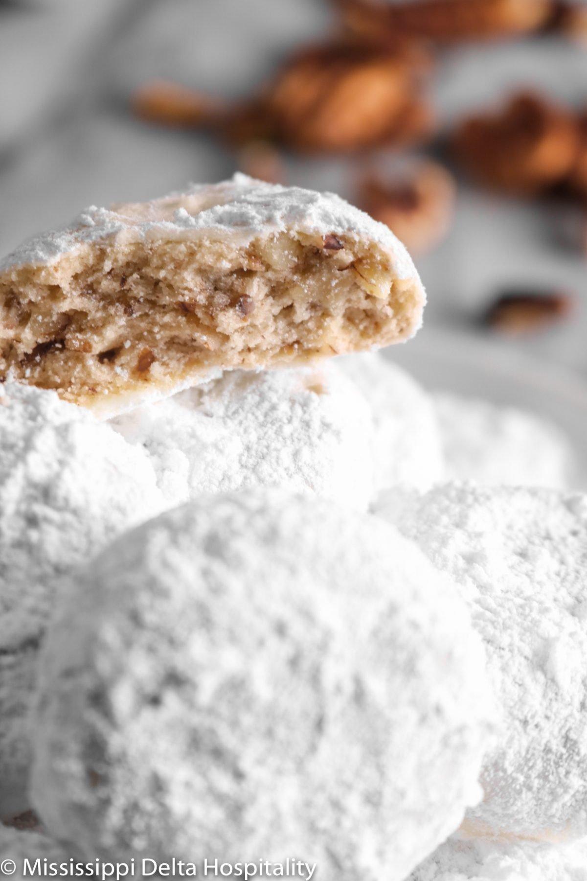 Danish Wedding Cookies Mississippi Delta Hospitality