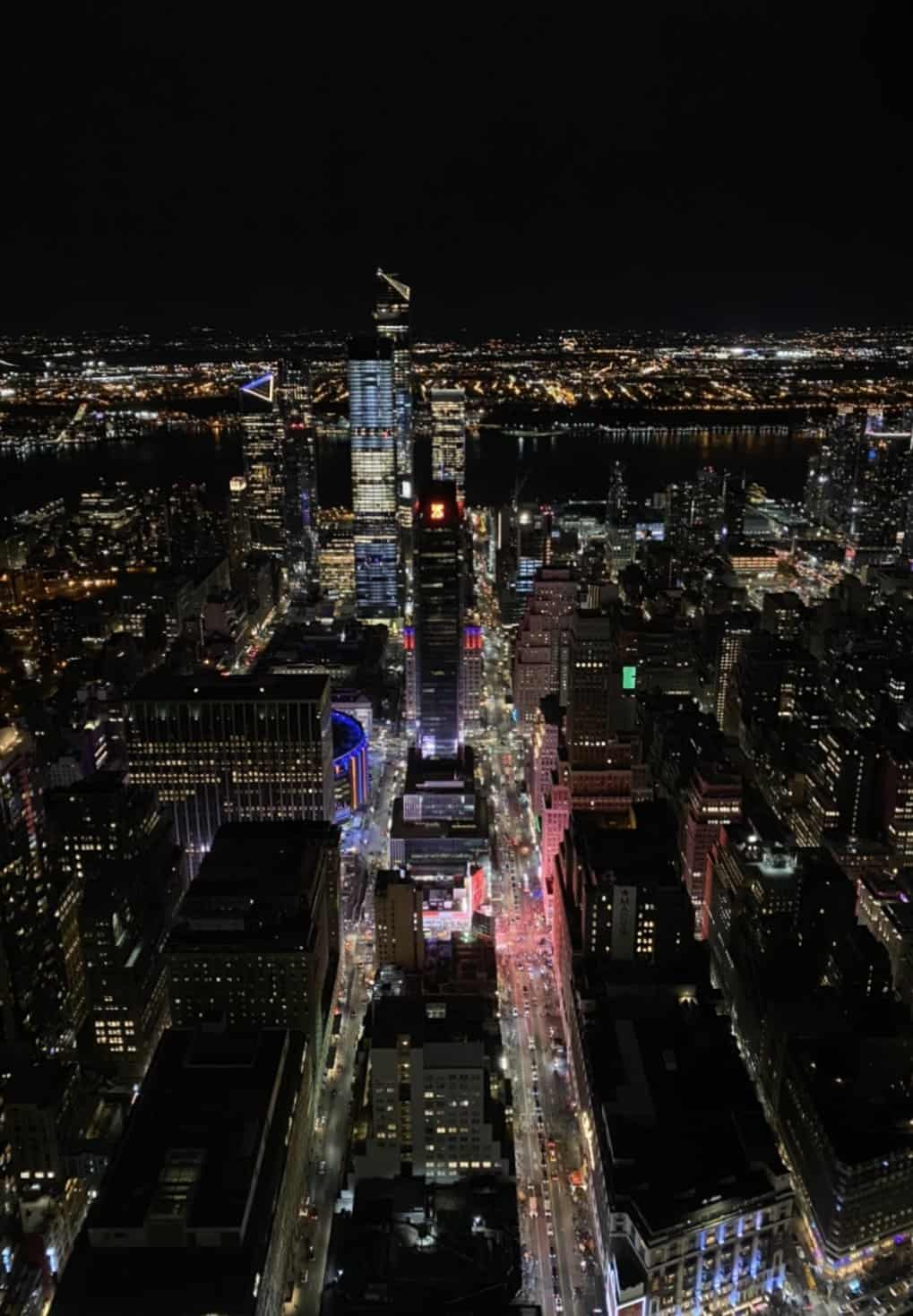 picture from on top of the empire state building