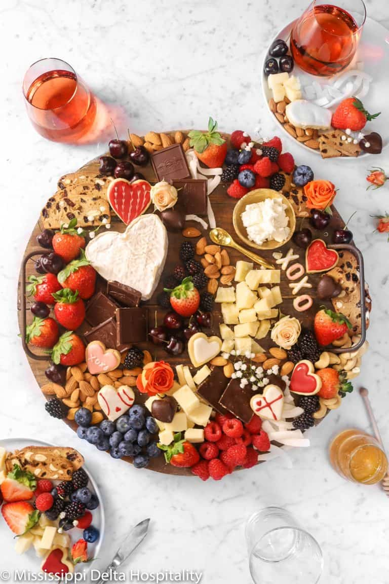 Chocolate and Cheese Dessert Board