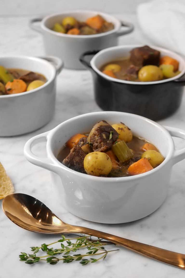Instant Pot Beef Stew with Red Wine