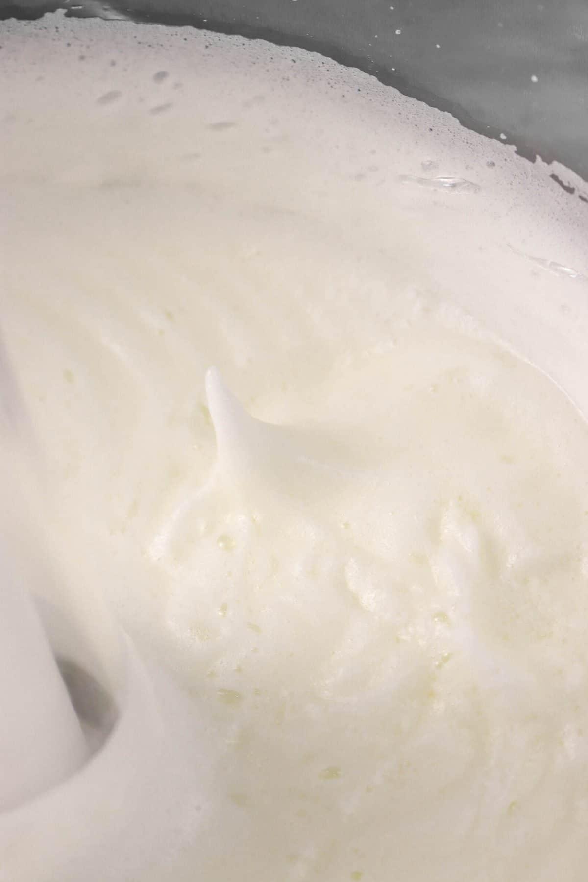 stiff peak egg whites