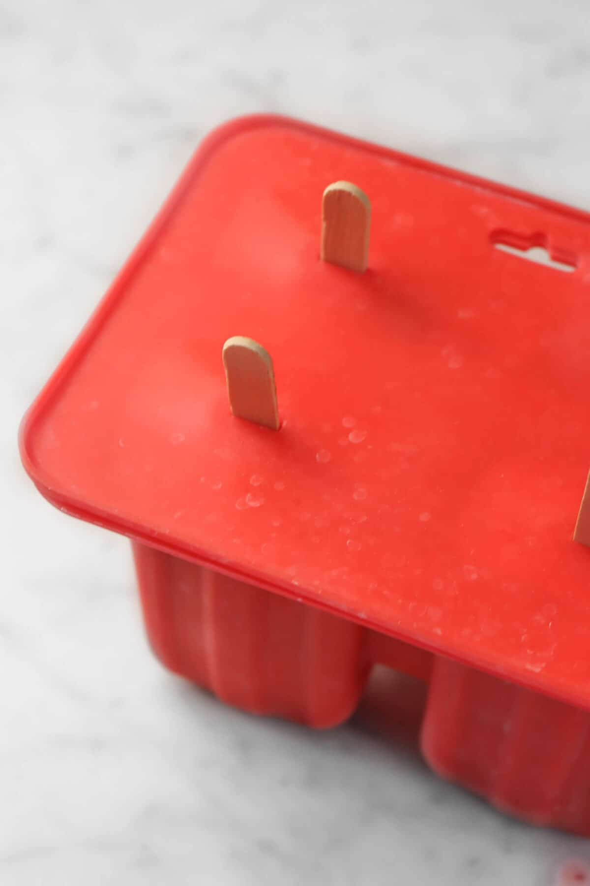 popsicle molds with wooden popsicle sticks