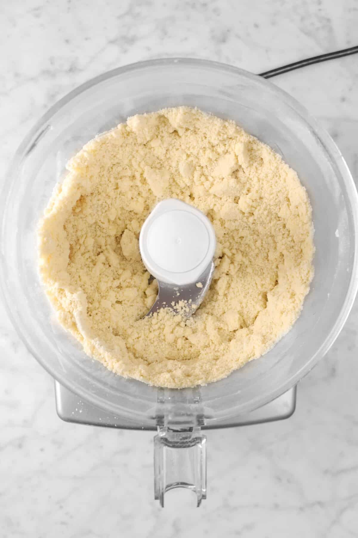 butter and flour mixture blended