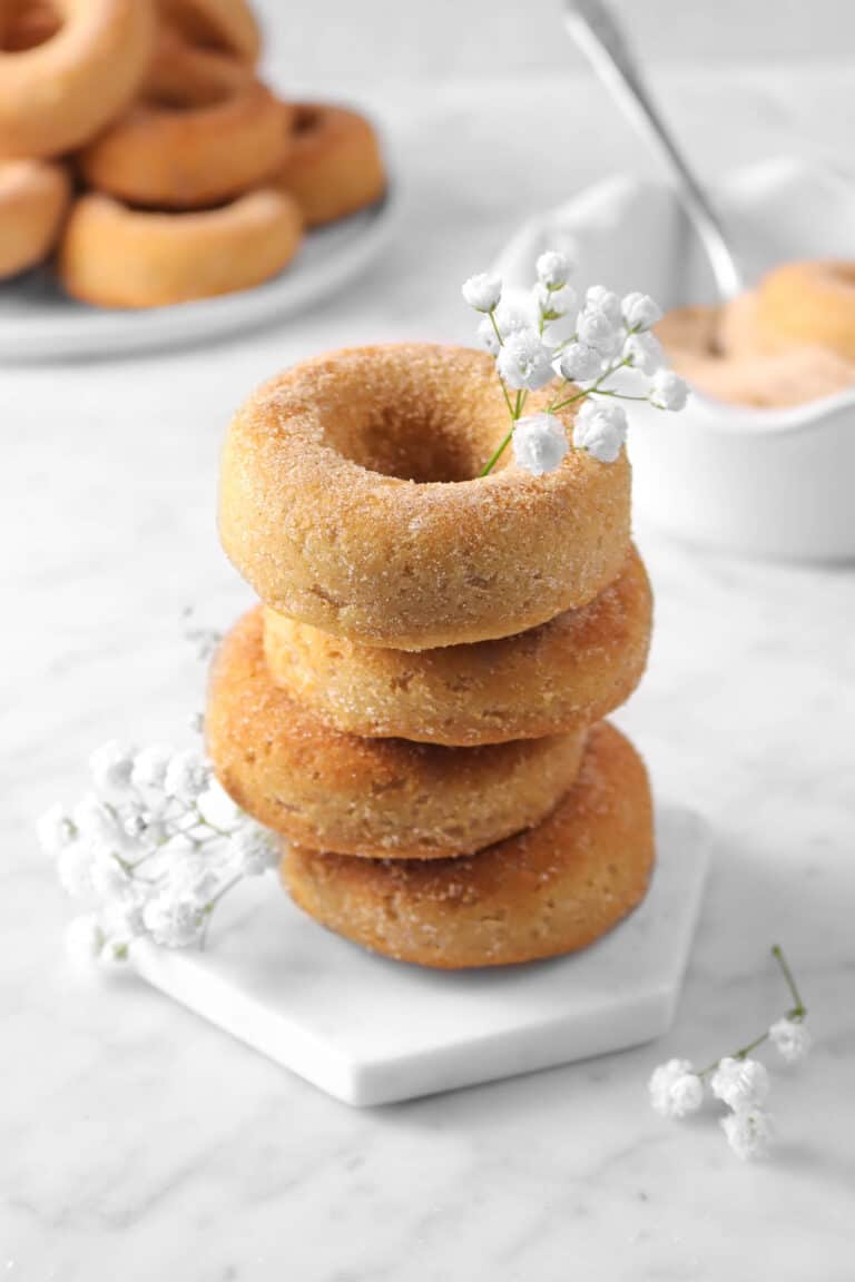 Cinnamon Spiced Baked Donuts