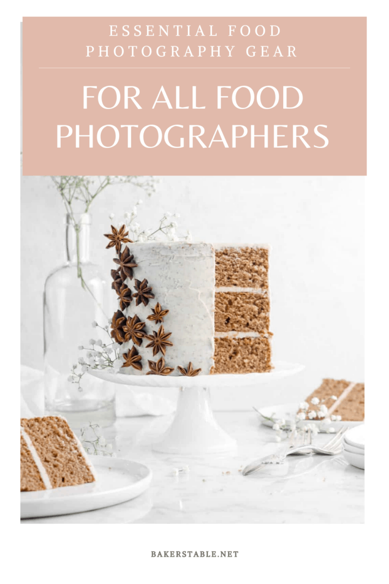 Essential Food Photography Gear For Food Photographers