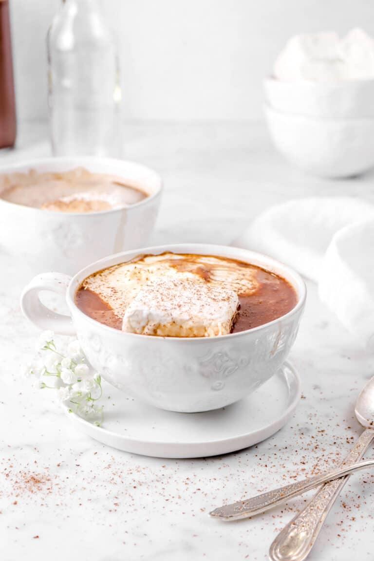 Creamy Double Chocolate Hot Cocoa