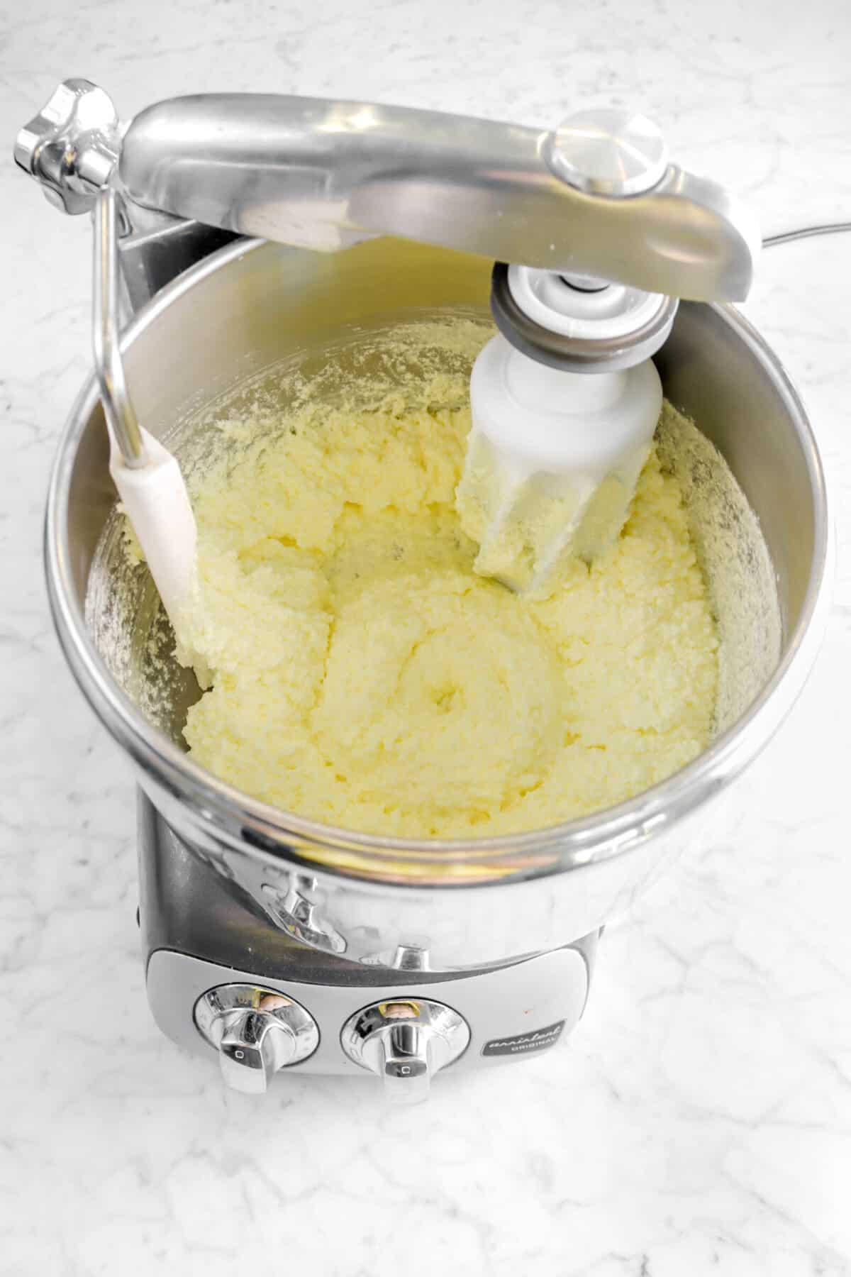 lemon juice stirred in