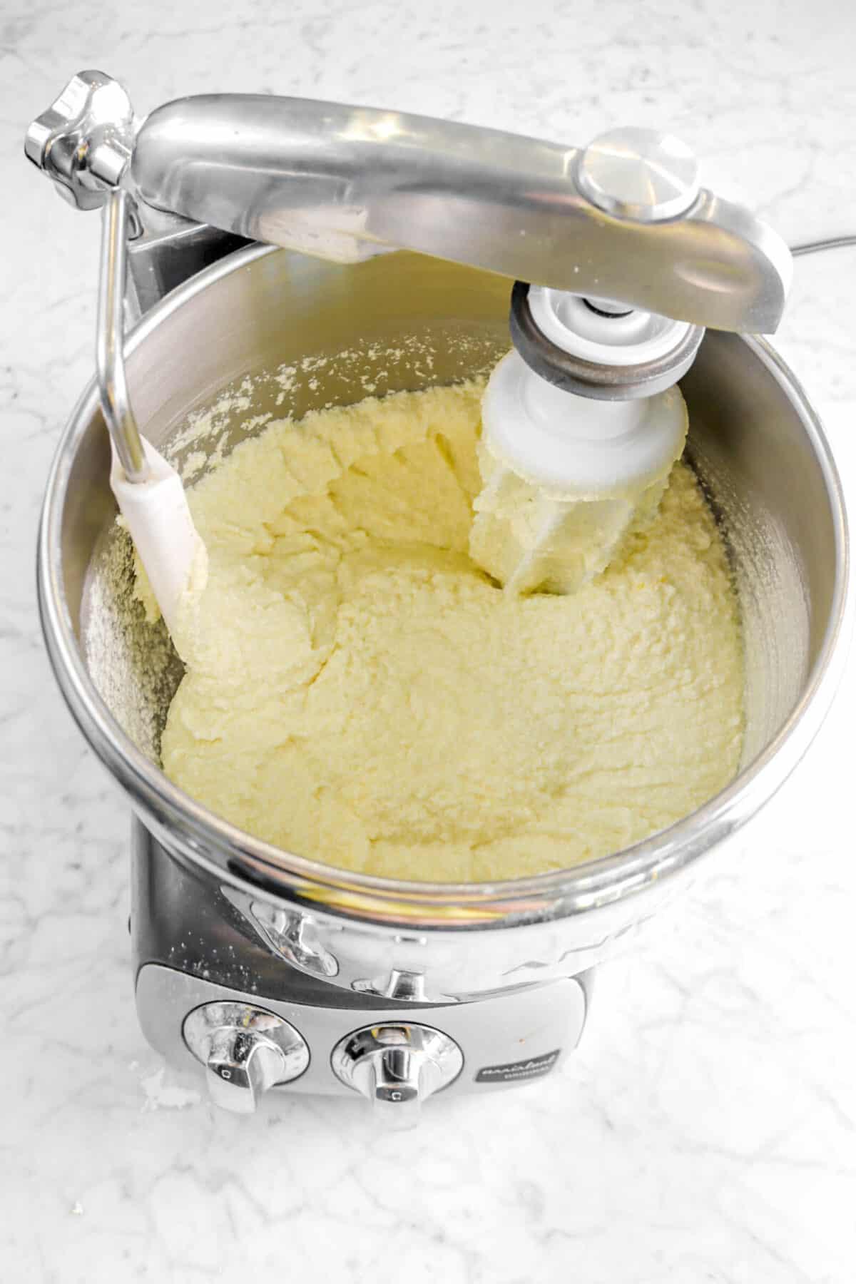 milk stirred in