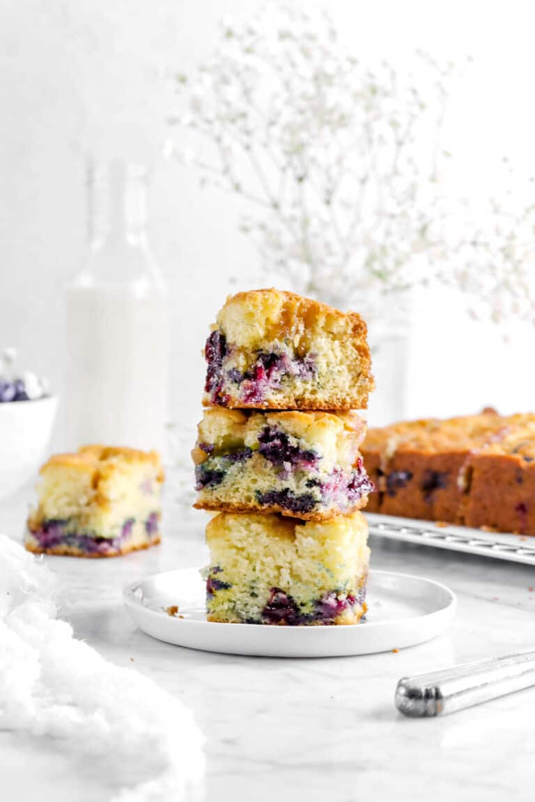 Blueberry Buckle with Brown Sugar Crumble