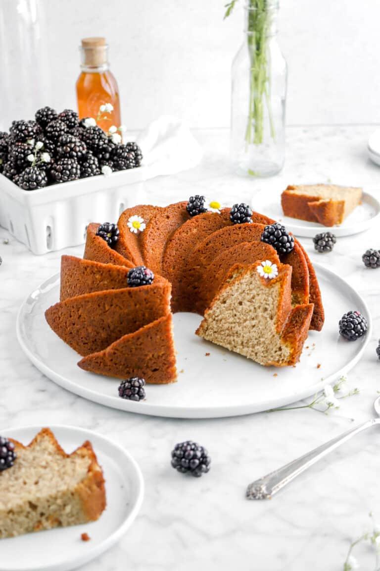 Blackberry Apple Spice Cake