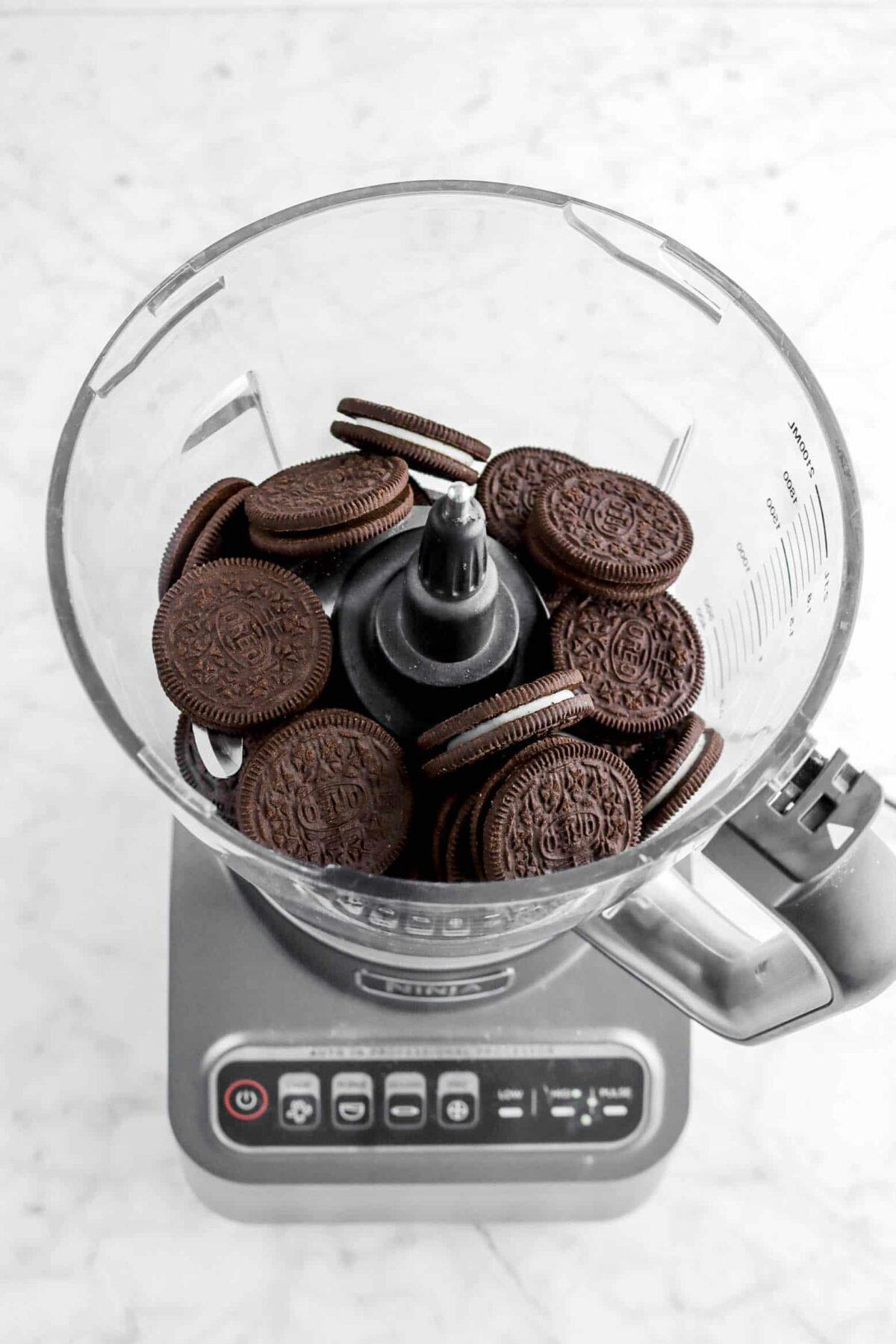 oreos in a food processor