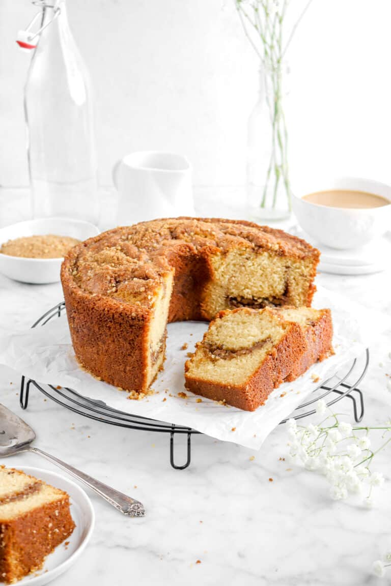 Cinnamon Streusel Coffee Cake