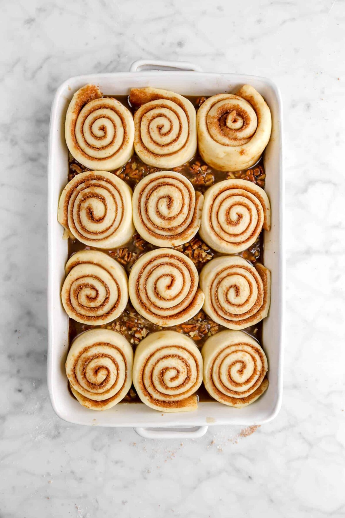 rolls doubled in size