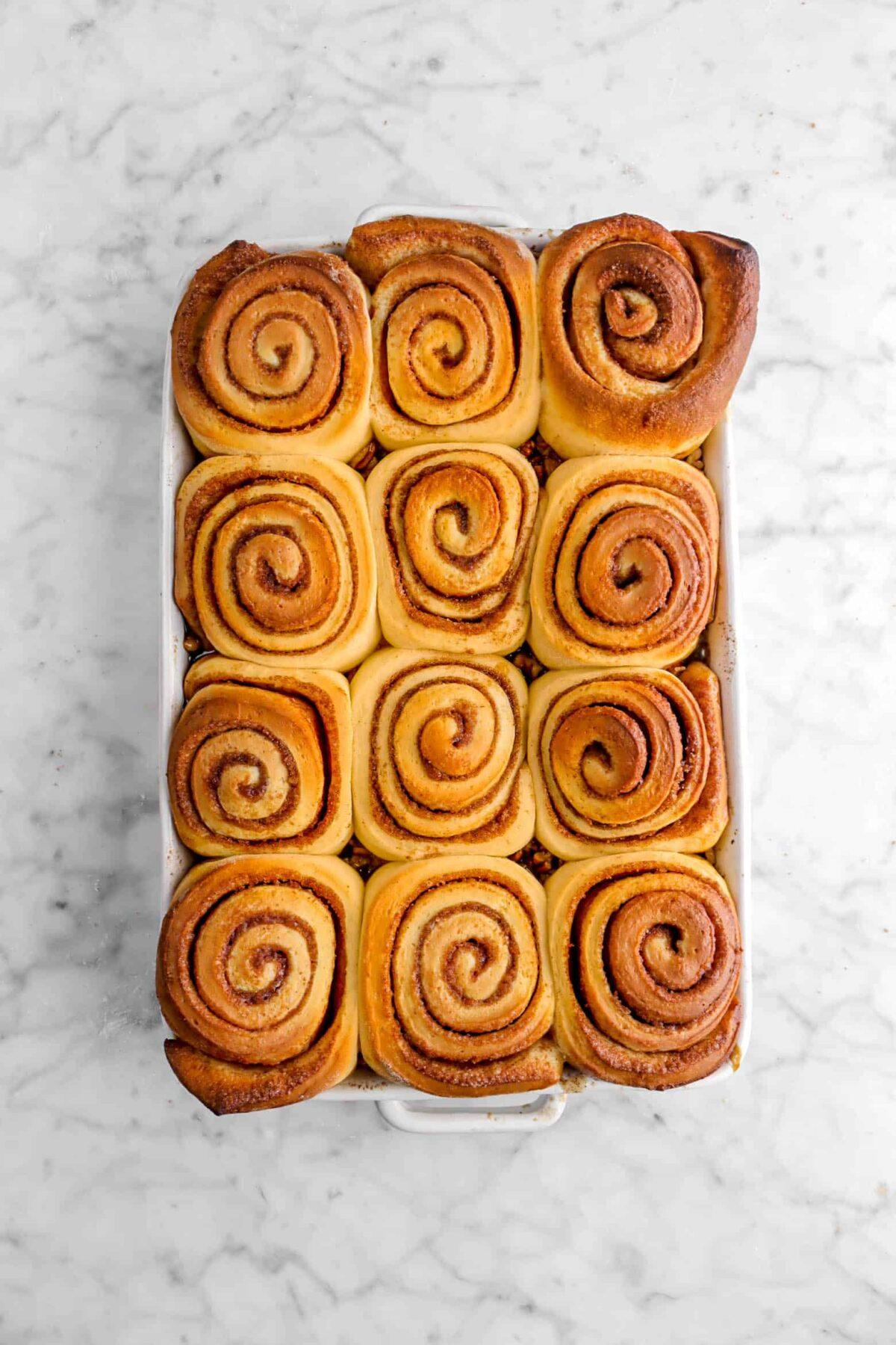 rolls baked until golden brown